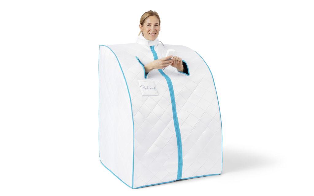 Radiant Health Infrarød Sauna Basic - vår bestselger! Svett deg friskere med egen bærbar infrarød badstue
